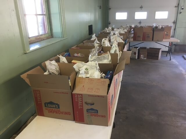 County Food Depot food hampers - The County Foundation