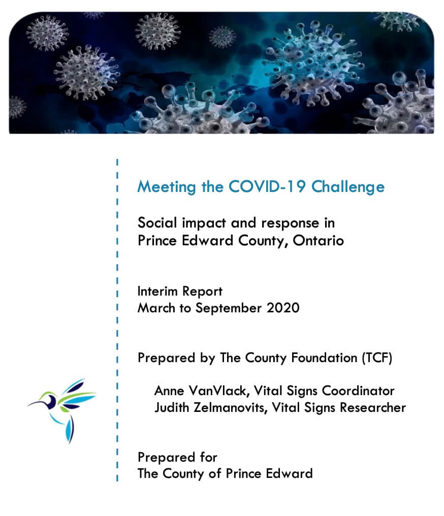 Meeting the COVID-19 Challenge - The County Foundation